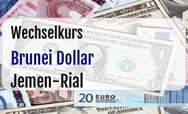 Brunei Dollar in Jemen-Rial