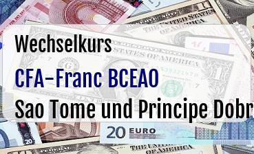 CFA-Franc BCEAO in Sao Tome und Principe Dobra