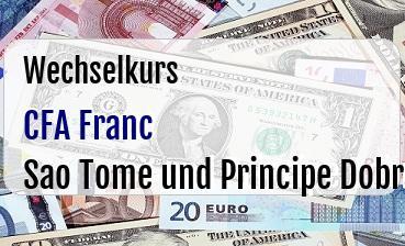 CFA Franc in Sao Tome und Principe Dobra
