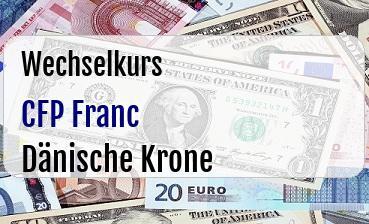 CFP Franc in Dänische Krone