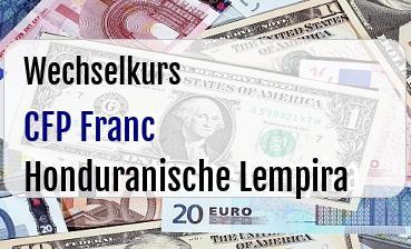 CFP Franc in Honduranische Lempira