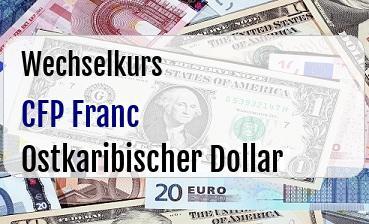 CFP Franc in Ostkaribischer Dollar