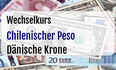 Chilenischer Peso in Dänische Krone