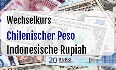 Chilenischer Peso in Indonesische Rupiah