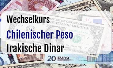 Chilenischer Peso in Irakische Dinar
