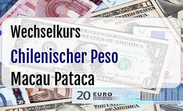 Chilenischer Peso in Macau Pataca