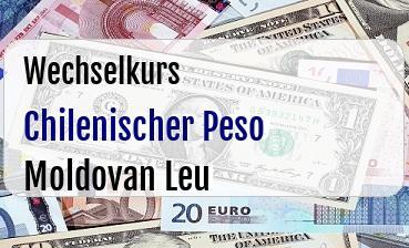 Chilenischer Peso in Moldovan Leu