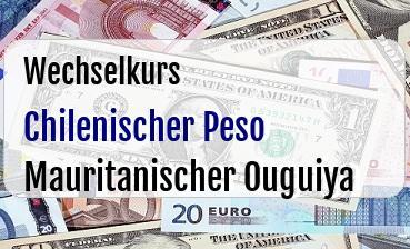 Chilenischer Peso in Mauritanischer Ouguiya