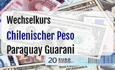 Chilenischer Peso in Paraguay Guarani