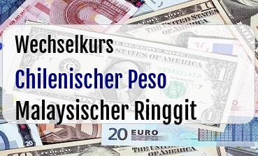 Chilenischer Peso in Malaysischer Ringgit