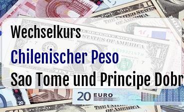 Chilenischer Peso in Sao Tome und Principe Dobra