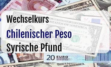 Chilenischer Peso in Syrische Pfund