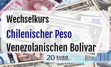 Chilenischer Peso in Venezolanischen Bolivar