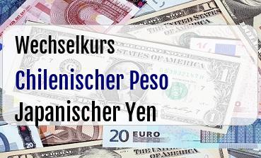 Chilenischer Peso in Japanischer Yen