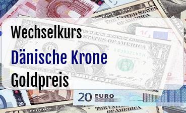 Dänische Krone in Goldpreis