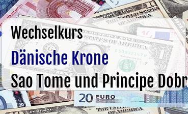 Dänische Krone in Sao Tome und Principe Dobra