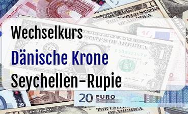 Dänische Krone in Seychellen-Rupie