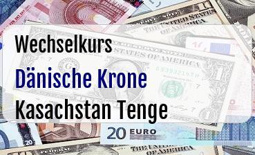 Dänische Krone in Kasachstan Tenge