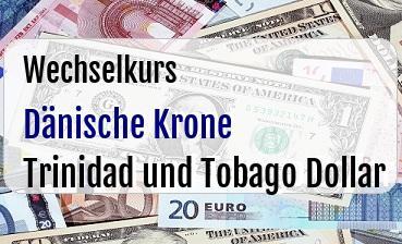 Dänische Krone in Trinidad und Tobago Dollar