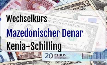 Mazedonischer Denar in Kenia-Schilling