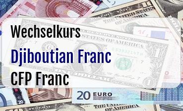 Djiboutian Franc in CFP Franc