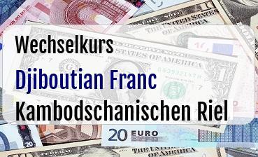Djiboutian Franc in Kambodschanischen Riel
