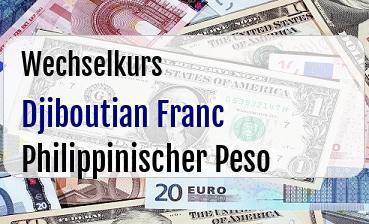 Djiboutian Franc in Philippinischer Peso