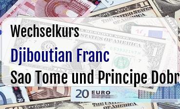 Djiboutian Franc in Sao Tome und Principe Dobra