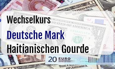 Deutsche Mark in Haitianischen Gourde