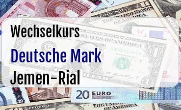 Deutsche Mark in Jemen-Rial