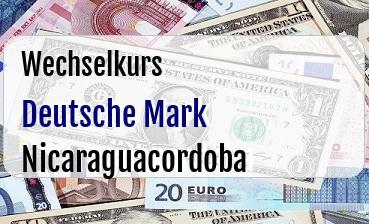 Deutsche Mark in Nicaraguacordoba