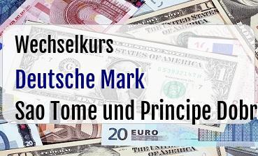 Deutsche Mark in Sao Tome und Principe Dobra