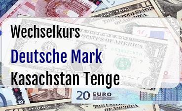 Deutsche Mark in Kasachstan Tenge