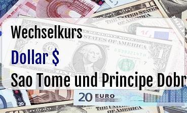 US Dollar in Sao Tome und Principe Dobra