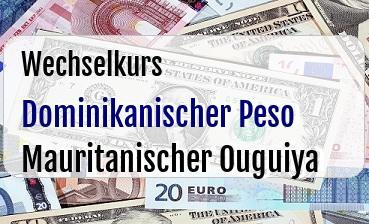 Dominikanischer Peso in Mauritanischer Ouguiya