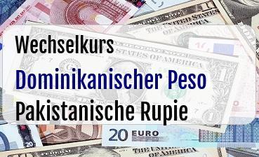 Dominikanischer Peso in Pakistanische Rupie