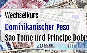 Dominikanischer Peso in Sao Tome und Principe Dobra
