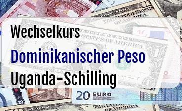 Dominikanischer Peso in Uganda-Schilling