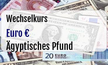 Euro in Ägyptisches Pfund