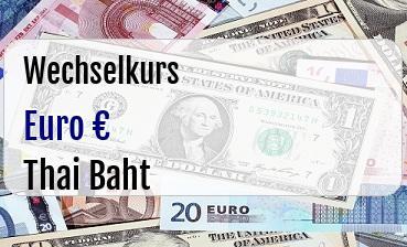 Euro in Thai Baht