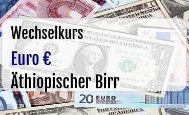 Euro in Äthiopischer Birr