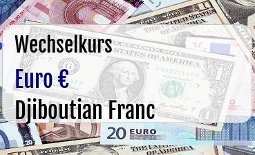 Euro in Djiboutian Franc