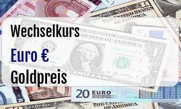 Euro in Goldpreis