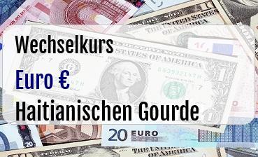 Euro in Haitianischen Gourde