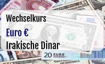 Euro in Irakische Dinar