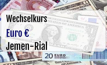 Euro in Jemen-Rial