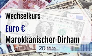 Euro in Marokkanischer Dirham