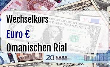 Euro in Omanischen Rial