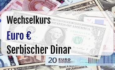 Euro in Serbischer Dinar