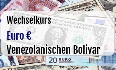 Euro in Venezolanischen Bolivar